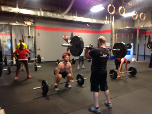 Workout – Tues 03/29/2016