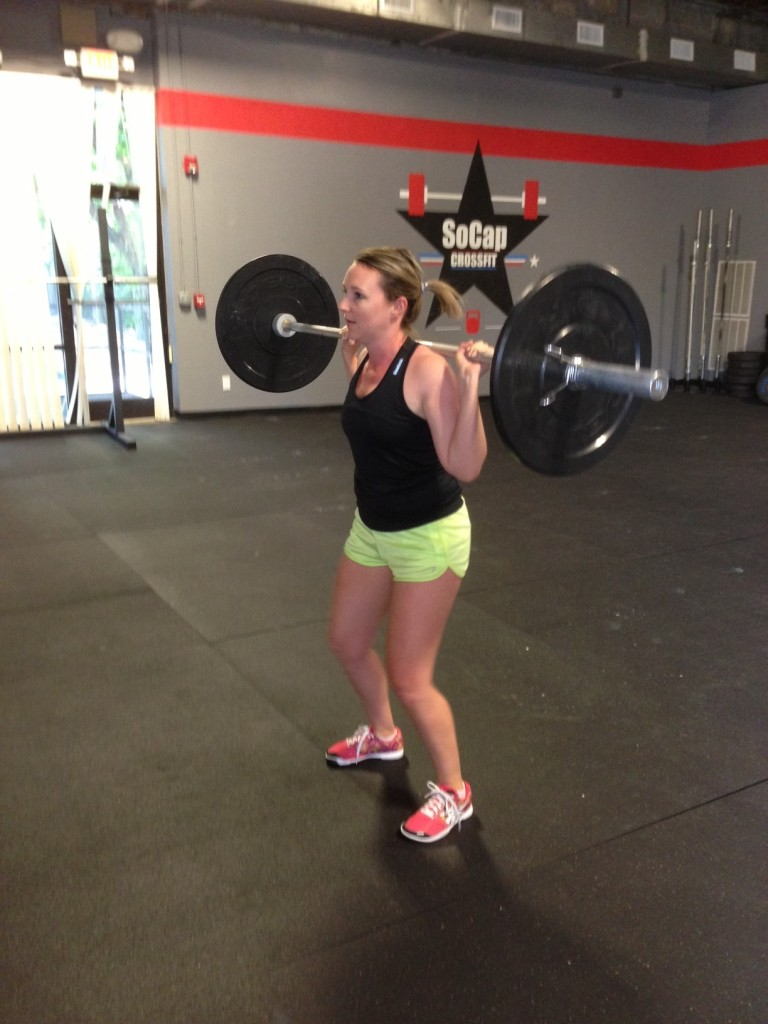 Announcements & Workout – Mon 03/28/2016