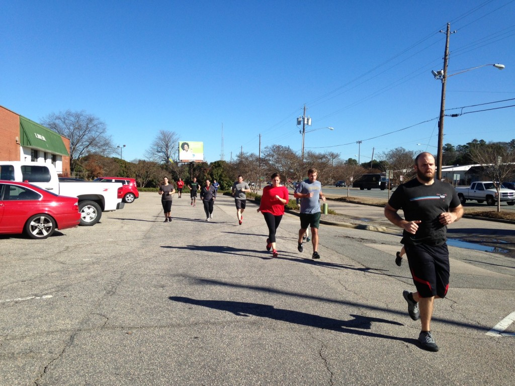 Workout – Tues 03/08/2016