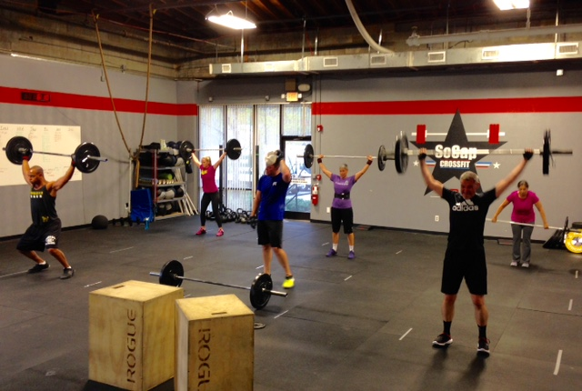Workout – Fri 04/01/2016