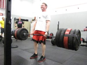 Triangle Crossfit - Deadlift