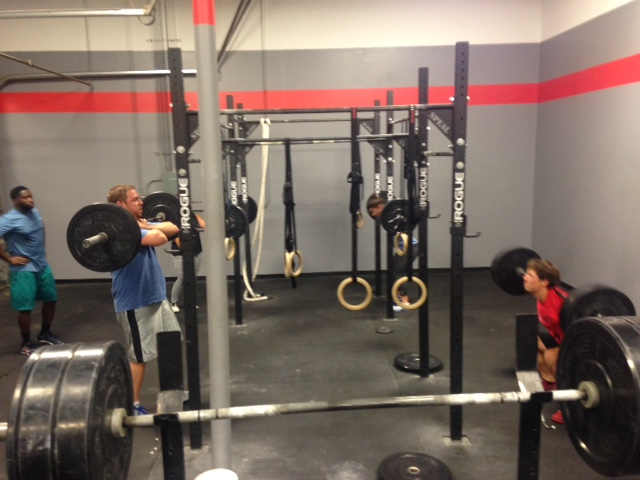 Workout – Wed 08/10/2016