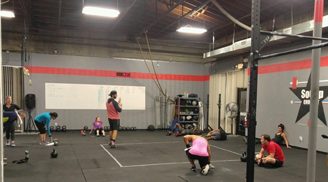 Workout – Tues 11/29/2016