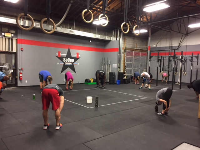 Workout – Wed 11/09/2016