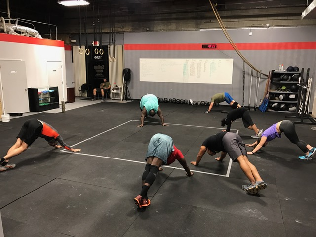 Workout – Fri 12/09/2016