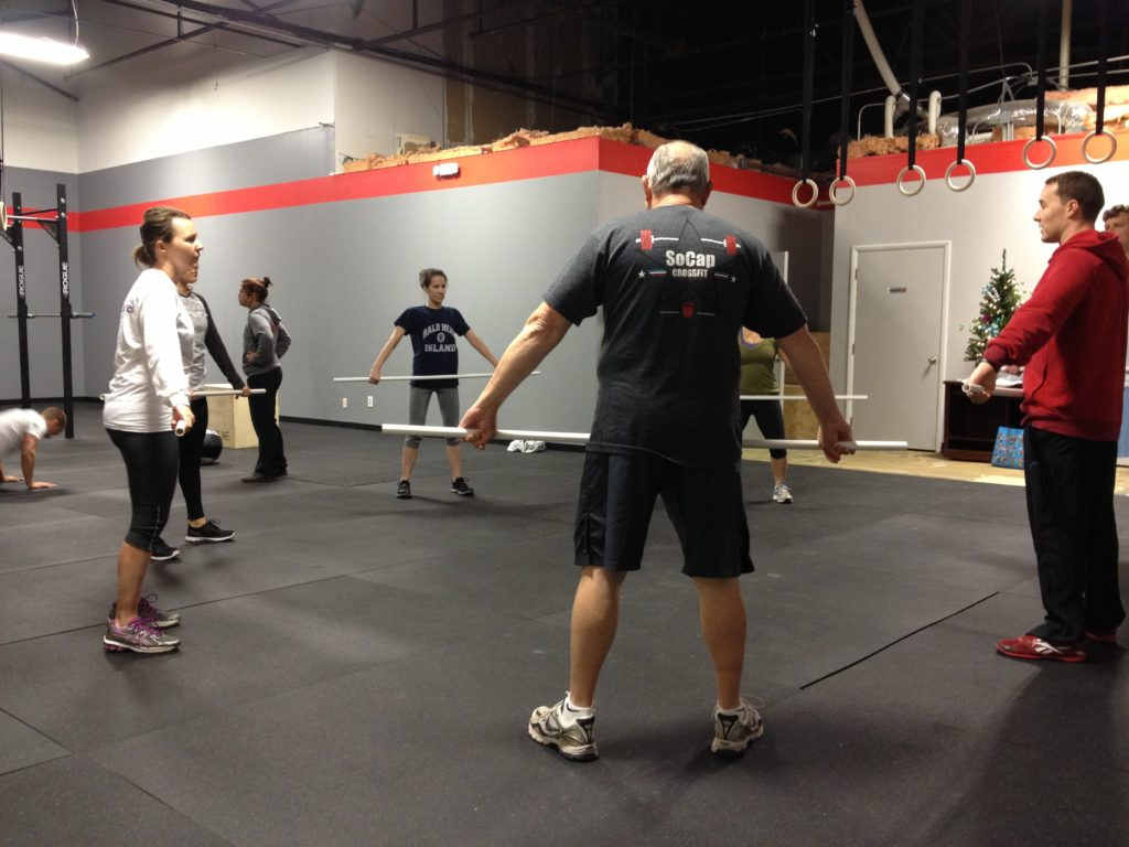 Workout – Tues 01/03/2016