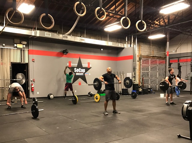 Workout – Tues 02/21/2017