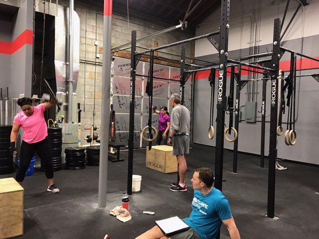 Workout – Wed 03/01/2017