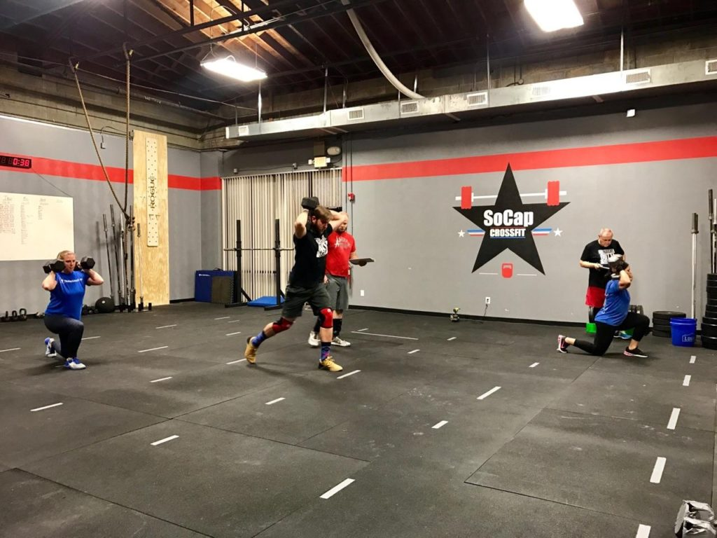 Workout – Tues 03/07/2017