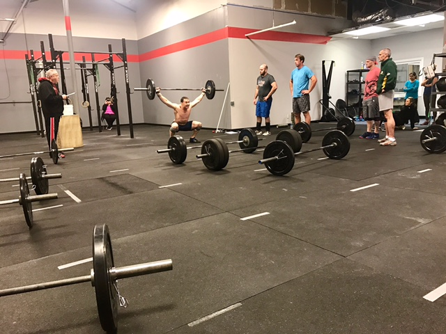 Workout – Tues 03/14/2017