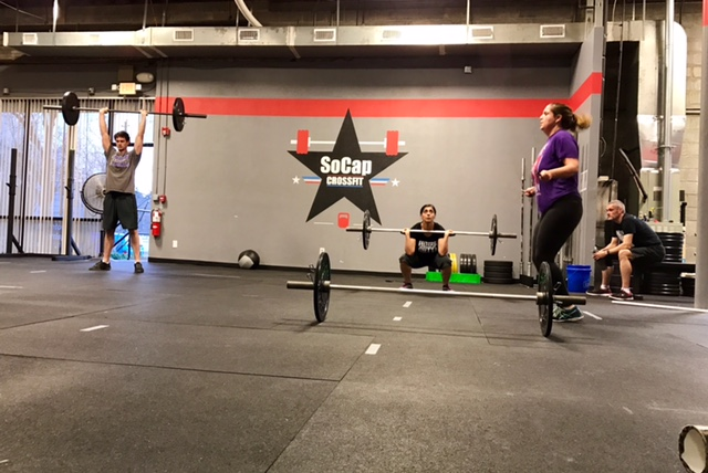 Workout – Tues 03/28/2017