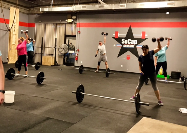 Workout – Tuesday 04/25/2017