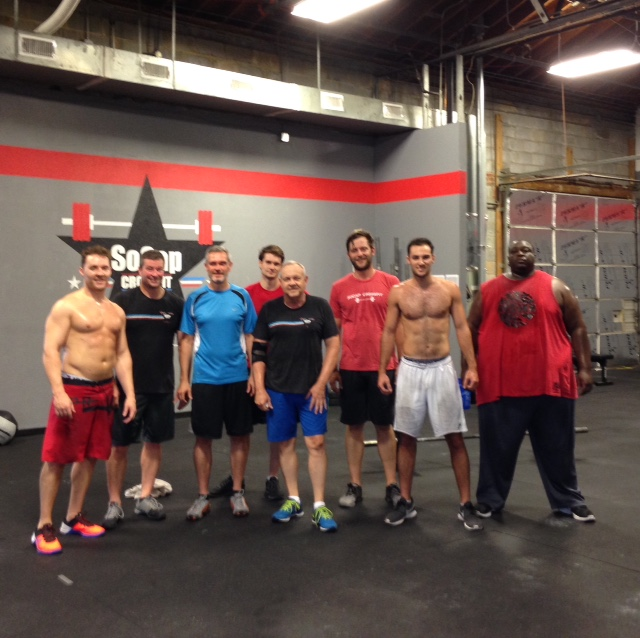 Workout – Thursday 04/13/2017