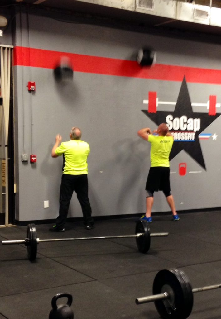 Workout – Friday 04/07/2017