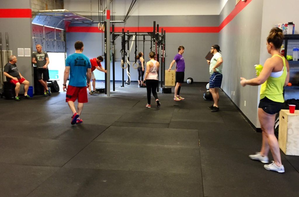 Workout – Wednesday 04/12/2017
