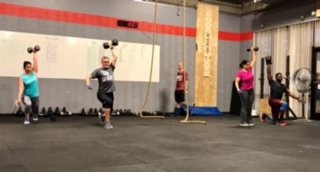 Workout – Monday 05/15/2017