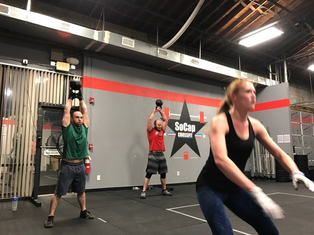 Workout – Tues 05/16/2017
