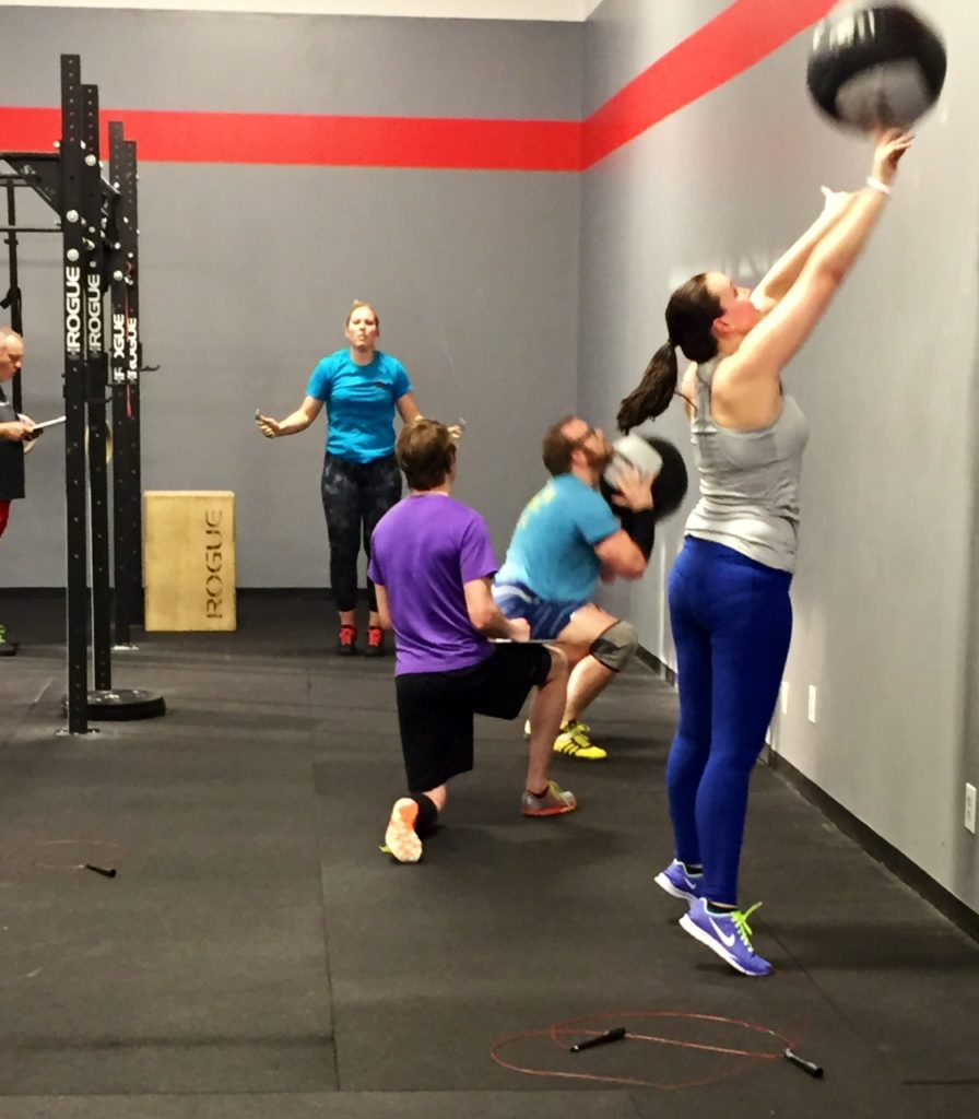 Workout – Monday 05/08/2017
