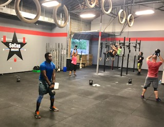 Workout – Wednesday 06/07/2017