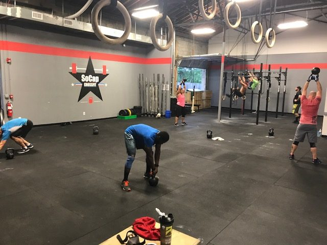 Workout – Friday 06/09/2017