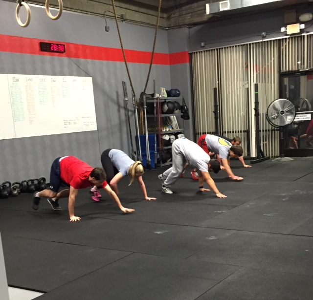 Workout – Thursday 06/22/2017