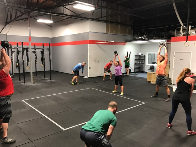 Workout – Monday 07/10/2017