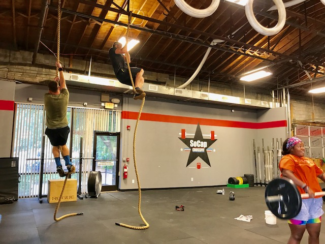 Workout – Tuesday 07/18/2017
