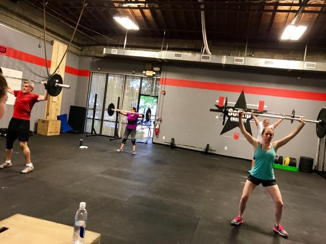 Workout – Friday 07/21/2017
