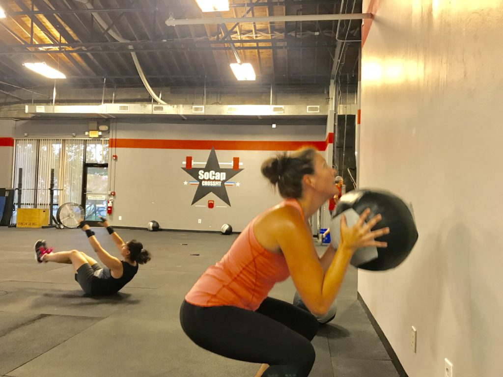 Workout – Monday 07/24/2017