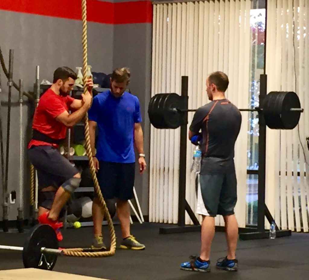 Workout – Monday 07/31/2017