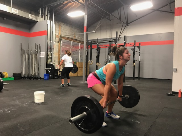 Workout – Tuesday 08/08/2017
