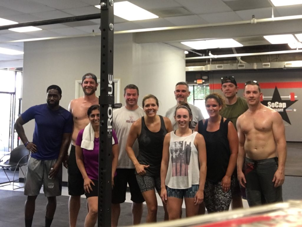 Workout – Monday 08/07/2017