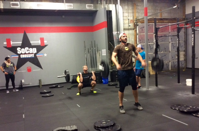 Workout – Friday 08/25/2017
