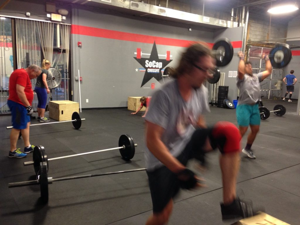 Workout – Wednesday 08/23/2017