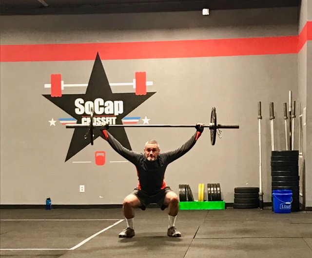 Workout – Monday 09/18/2017