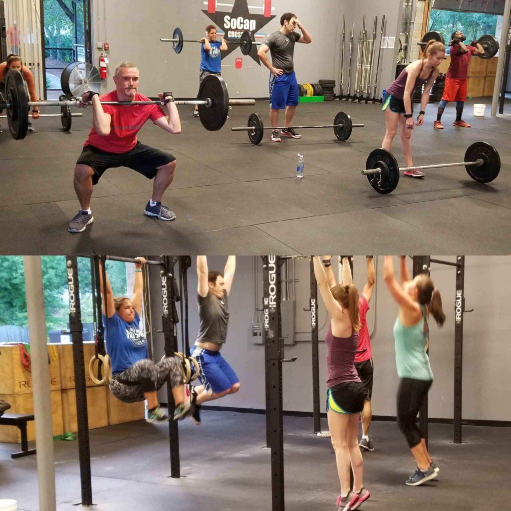 Workout – Tuesday 09/05/2017