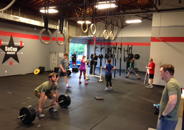 Workout – Friday 09/01/2017