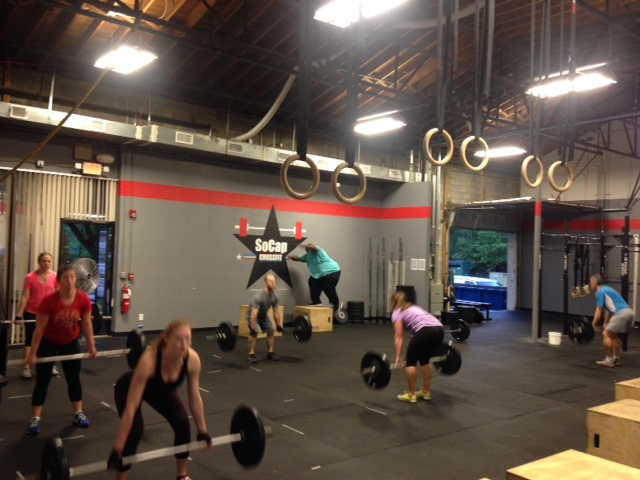 Workout – Monday 10/16/2017