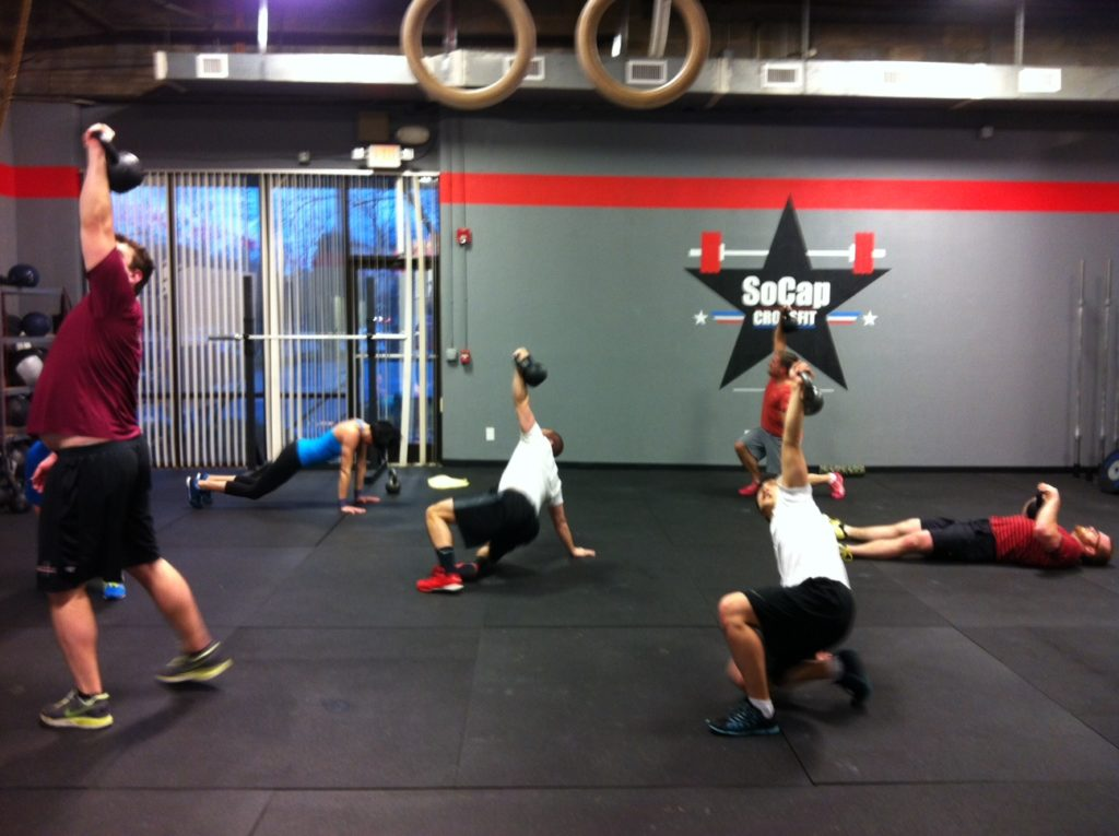 Workout – Thursday 10/05/2017