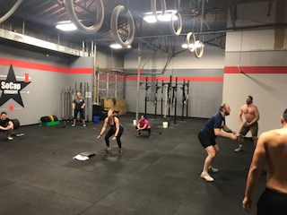 Workout – Monday 11/06/2017