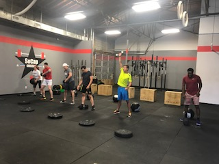 Workout – Monday 11/13/2017