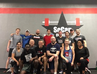 Workout – Monday 11/27/2017