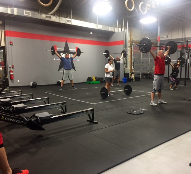 Workout – Monday 12/18/2017