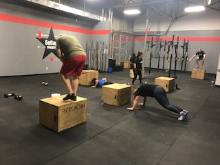 Workout – Monday 12/04/2017