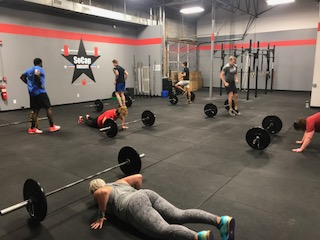 Workout – Tuesday 12/05/2017