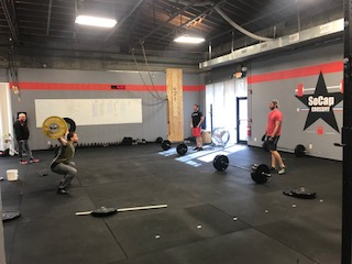 Workout – Friday 01/12/2017