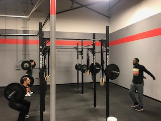 Workout – Monday 01/14/2018