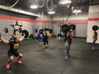Workout – Tuesday 01/16/2018