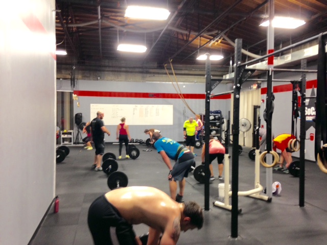 Workout – Monday 01/22/2018