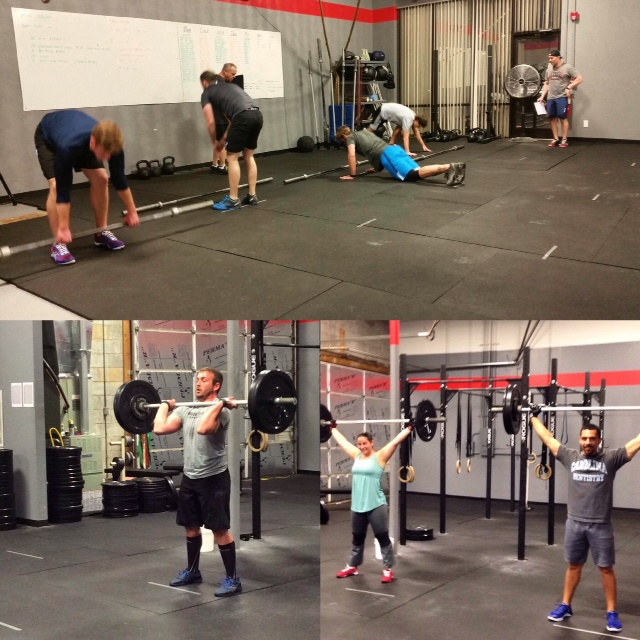 Workout – Wednesday 01/10/2018